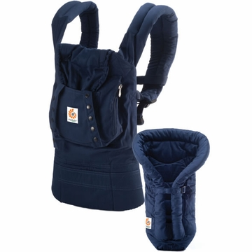 Ergobaby Organic Collection Bundle of Joy in Navy - D