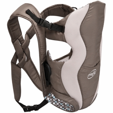 Evenflo Glide Baby Carrier in Mocha Chip