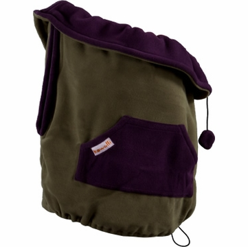 Kowalli Baby Carrier Cover - Turtle/Eggplant