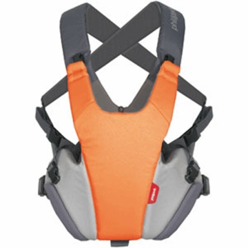 Phil & Teds Pepe Front Carrier in Orange/Charcoal