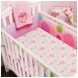 Little Miss Matched Monkey 5 Piece Crib Bedding Set
