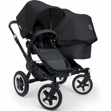 Bugaboo Donkey Duo Stroller in All Black Special Edition
