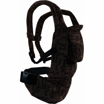 Snugli Seated Carrier in Gothic Black