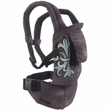 Snugli Seated Soft Carrier in Fleur De Lis