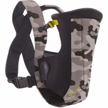 Snugli Vented Carrier in Camouflage Black