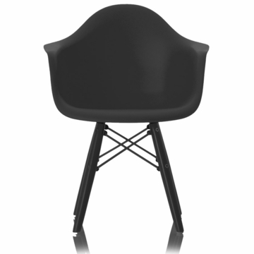 Little Nest Bucket Child Chair in Black