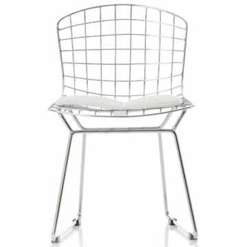 Little Nest Little Bert Child Chairs in Silver - Set of 2
