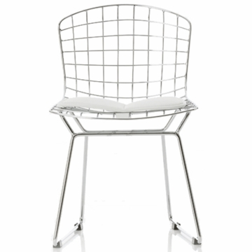 Little Nest Little Bert Child Chairs in White - Set of 2