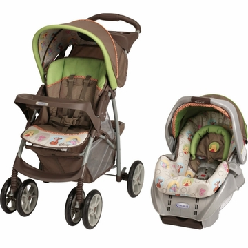 Graco LiteRider Travel System - Peek A Pooh Friends