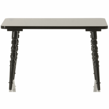 Little Nest William Rectangular Child Table in Black