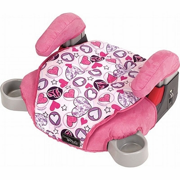 Graco Backless TurboBooster Car Seat - Love Hearts