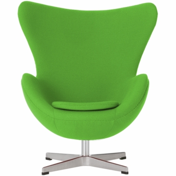 Little Nest Yolk Child Chair in Lime Green