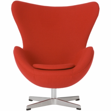 Little Nest Yolk Child Chair in Red