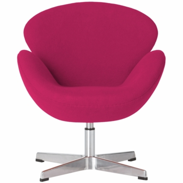 Little Nest Cygnet Child Chair in Hot Pink