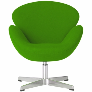 Little Nest Cygnet Child Chair in Lime Green
