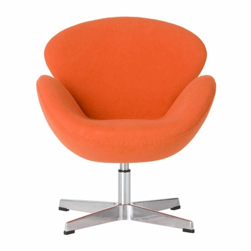 Little Nest Cygnet Child Chair in Orange