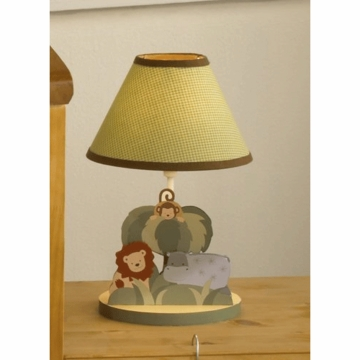 Bedtime Originals Happy Tails Lamp with Shade & Bulb