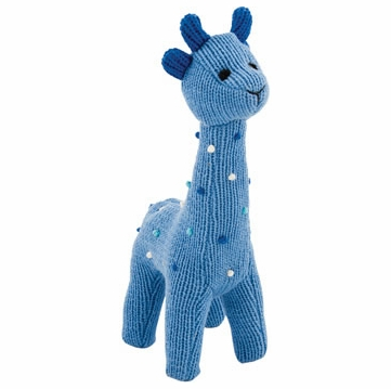 Rich Frog Squeaky Giraffe - Blue