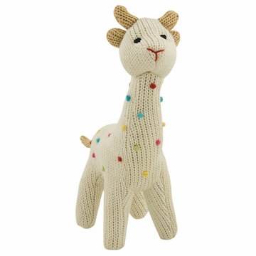 Rich Frog Squeaky Giraffe - Cream