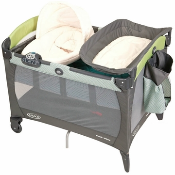 Graco Pack 'n Play Playard with Newborn Napper Station - Laguna Bay