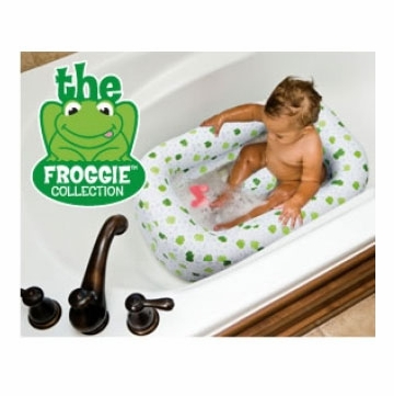 Mommy's Helper Froggie Collection Inflatable Bath Tub