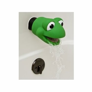 Mommy's Helper Faucet Cover Froggie Collection, Green