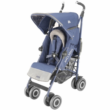 Maclaren Techno XT Stroller - Crown Blue on Crown Blue Frame
