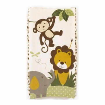 CoCaLo Printed Changing Pad Cover - Safari Neutral