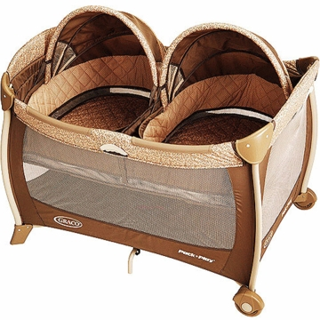 Graco Pack n Play Playard with Twins Bassinet 1756938 Kensington (2011)
