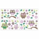 CoCo & Company Owl Wonderland Removable Wall Appliques