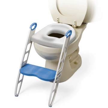 Mommy's Helper Contoured Cushie Step-Up Padded Potty Seat with Step Stool