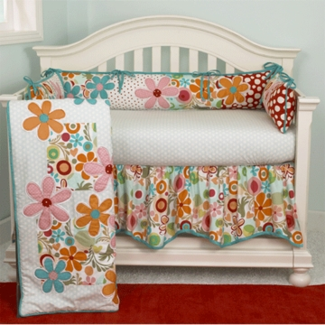 Cotton Tale Designs Lizzie 4 Piece Crib Bedding Set