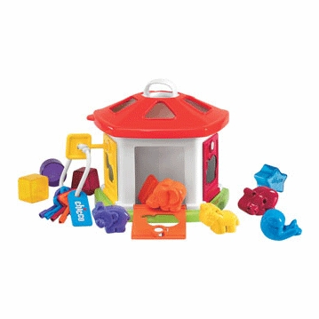 Chicco Animal Cottage Shape Sorter