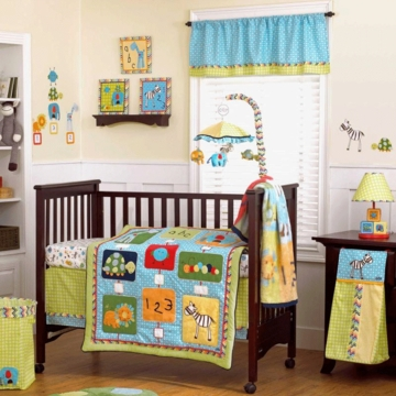 CoCaLo Brooklyn 4 Piece Crib Set
