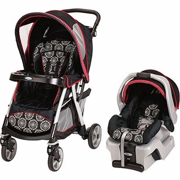 Graco Urbanlite Classic Connect Travel System - Edgemont