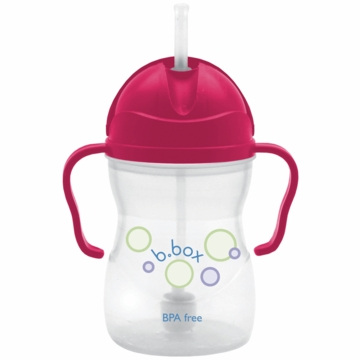 B. Box Essential 8oz. Sippy Cup in Raspberry