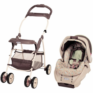 Graco 2011 Snugride Infant Carseat Plus Stroller Frame - Little Wonders