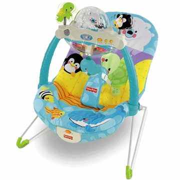 Fisher-Price Precious Planet Snow Globe & Lights Bouncer