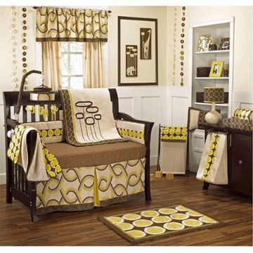CoCaLo Couture Cyprus 4 Piece Crib Bedding Set