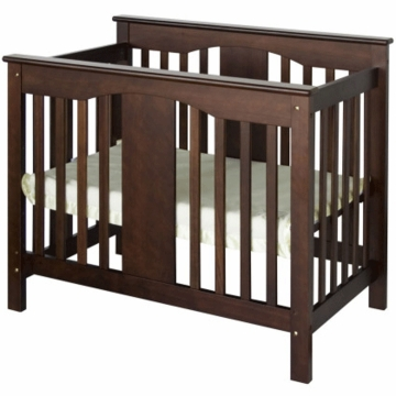 DaVinci Annabelle Mini 2-in-1 Convertible Crib Espresso