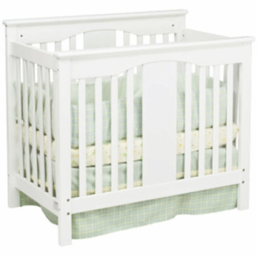 DaVinci Annabelle Mini 2-in-1 Convertible Crib in White