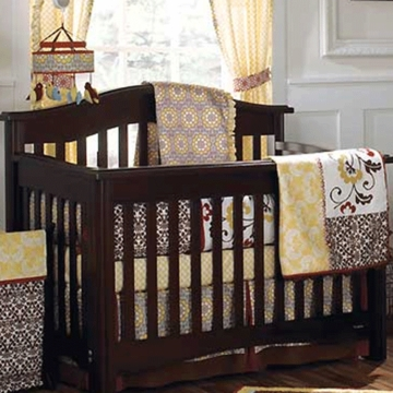 CoCaLo Couture Delilah 4 Piece Baby Crib Bedding Set