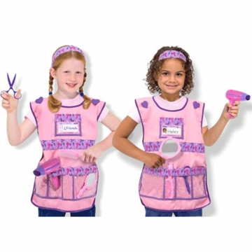 Melissa & Doug Hair Stylist Costume Role Play Set