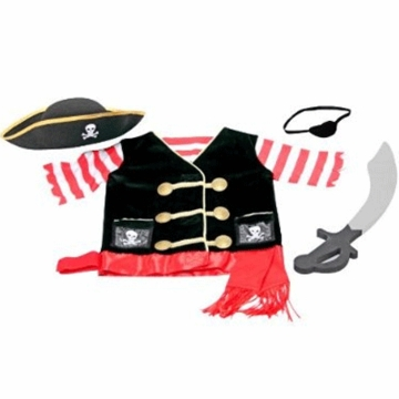 Melissa & Doug Role-Play Costume Set-Pirate