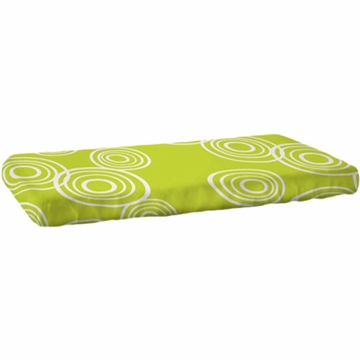 Nook Sleep System Fitted Crib Sheet in Puddle Lawn