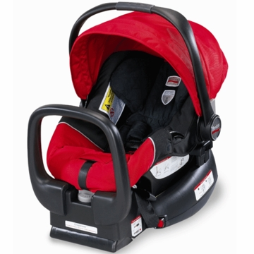 Britax Chaperone Infant Car Seat in Red