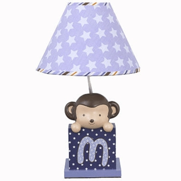 CoCaLo Baby Monkey Mania Lamp Base & Shade