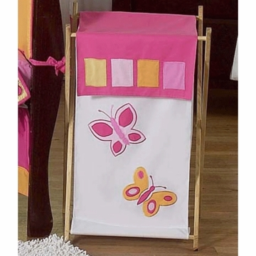 Sweet JoJo Designs Pink & Orange Butterfly Hamper