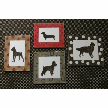 Cotton Tale N. Selby Designs Houndstooth Wall Art