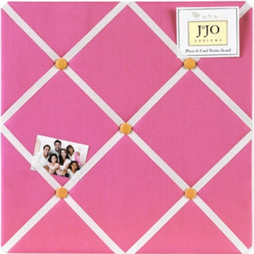 Sweet JoJo Designs Pink & Orange Butterfly Memo Board